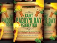 Saint Patricks Day Flyer Template