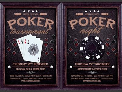 Poker Night Flyer Template texas holdem promotion poster poker tournament poker night poker flyer poker club poker chip poker photoshop online poker online casino