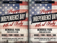 Independence Day Flyer Template 3