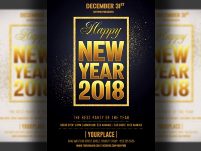 new year eve party flyer template nye flyer nye 2018 nye new years eve new year