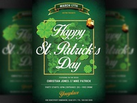 St. Patricks Party Flyer Template
