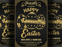 Easter Invitation Flyer Template
