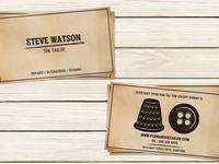 Tailor Business Card Template
