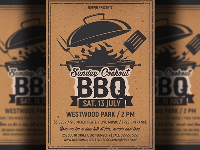 Barbecue Bbq Flyer Template summer restaurant pool party picnic independence day grill restaurant cookout beach party bbq restaurant bbq flyer barbecue flyer 4th of july