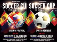 Football World Cup 2018 Flyer Template