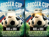 Russia World Cup Flyer Template
