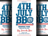 Independence Day Bbq Flyer