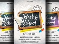 Back To School Flyer Trmplate