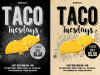 Taco Flyer Template