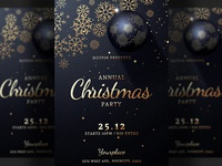 Christmas Invitation Party Flyer