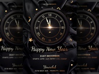 Classy New Years Eve Flyer