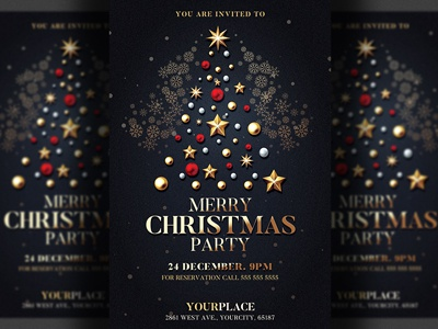 Christmas Invitation Designs Themes