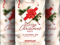 Classy Christmas Party Flyer