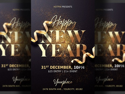 new year eve flyer template party flyer party nye invitation nye flyer nye nightclub new years
