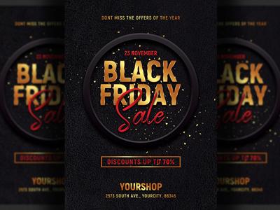 Black Friday Sale Flyer Template 2