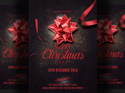 Christmas Flyer Invitation Template
