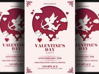 Valentines Day Flyer Invitation