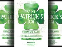 St. Patricks Day Flyer Template