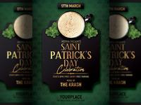 Saint Patrick Day Flyer Template