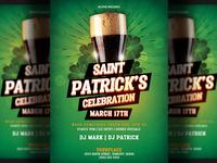 Saint Patricks Flyer Template