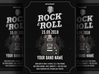 Rock Flyer Template
