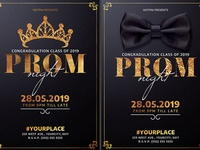 Prom Party Flyer Template