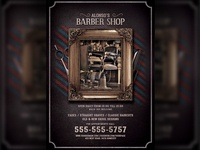 Barbershop Flyer Template
