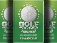 Golf Tournamet Flyer Template