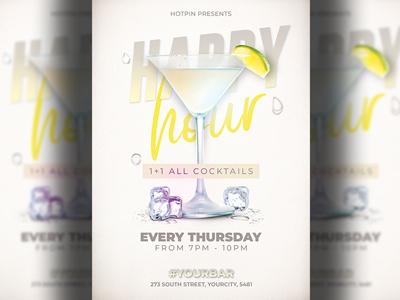 Happy Hour Flyer Template