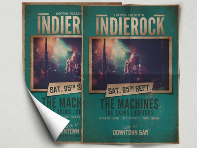 Indie Music Flyer Template