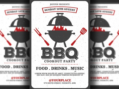 Barbecue Bbq Flyer Template
