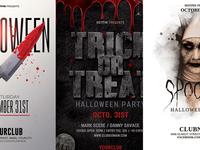 Halloween Party Flyer Bundle