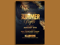 Classy Summer Party Flyer Template