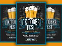 Oktoberfest Poster Flyer Template