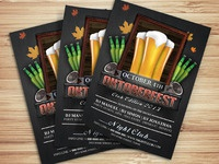 Oktoberfest Party Club Flyer Template