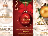 Christmas Flyer Invitation Bundle