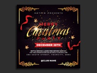 Christmas Flyer Invitation Template