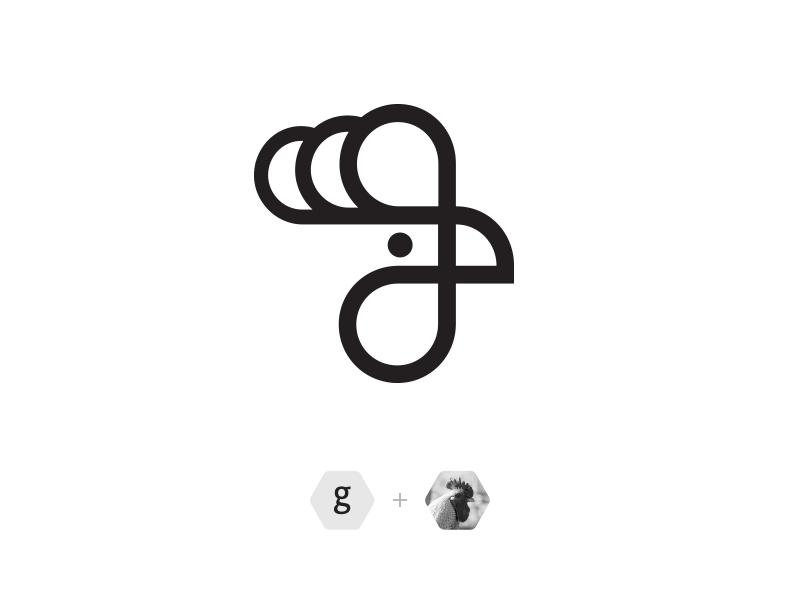 Gallus outline logo gallus