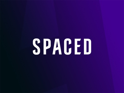 SPACED - logo concept