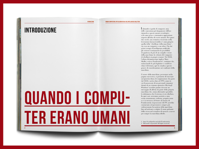 Page I typeface magazine editorial design editorial book design book typography design