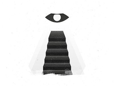 36 Days of Type - I texture grunge geometry shape eye symbol simple illustration typography letter i 36 days of type
