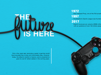 Gaming Magazine Centerspread