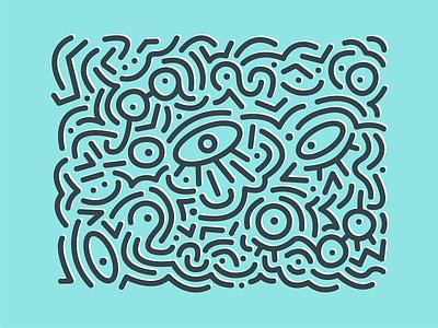 eyes 👀 symbol design illustration vector lineart shapes glasses eye eyes fun simplistic simple lines geometric pattern