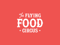 The Flying Food Circus Logo
