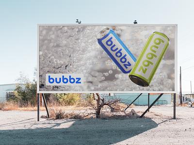 Brand Identity for Bubbz branding and identity logos ai logo design logo brand identity water packaging beer packaging beverage packaging drink packaging can design packaging design