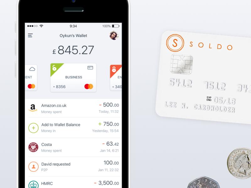 MasterCard activity feed | fintech app finance wallet payment logo branding mastercard fintech iphone ios