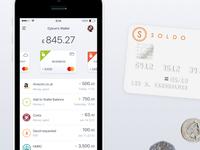 MasterCard activity feed | fintech app
