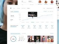 Feels • Analytics for fashion brand's Instagram account (2016)