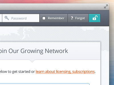Login website web ui web design webdesign form input button sign up remember forgot header web