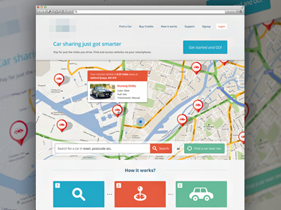 Early stage of a web design web web design design ui map step popover button website